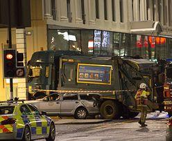 Wypadek ciężarówki w Glasgow. Kierowca staranował przechodniów
