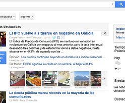 Google News znika z hiszpańskiego internetu