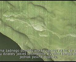 Rosyjscy naukowcy uważają, że szeroki na 60 metrów krater jest efektem zmian temperatury