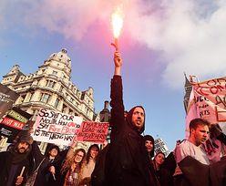 Wielka Brytania: Protest przeciwko rządowej polityce oszczędności