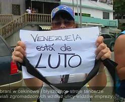 Uczestnicy protestów w Caracas przenieśli się na... plażę