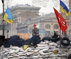 Opozycja na Ukrainie. Zablokowali mównicę w parlamencie