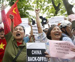 Protesty w Wietnamie przerodziły się w zamieszki