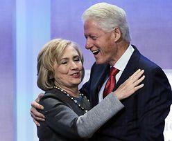 Clintonowie zebrali 3 mld dolarów. Wspomagają ich Spielberg i Soros