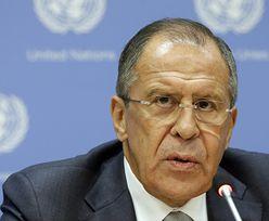 Stosunki Rosja-USA. Ławrow: nie będzie wyścigu zbrojeń