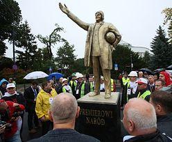 Pomnik premiera Donalda Tuska. Dar od związkowców