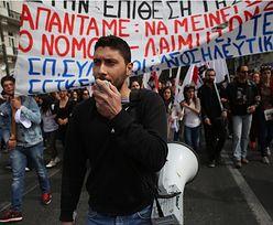 Pomoc dla Grecji. W parlamencie debata o oszczędnościach, na ulicach protesty