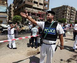 Zamach na szefa MSW Egiptu
