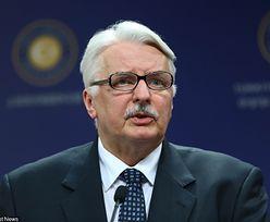 Sankcje wobec Rosji wygasają z końcem lipca. Waszczykowski o dalszej strategii Unii
