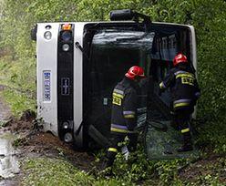 Czechy: Groźny wypadek polskiego autokaru