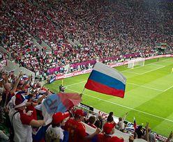 Marsz Rosjan przez Warszawę. Tuż przed meczem