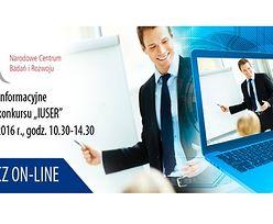 """Spotkanie informacyjne dotyczące konkursu """"IUSER"""""""