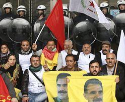 Strajk głodowy Kurdów w Brukseli - chcą pomocy przeciw dżihadowi