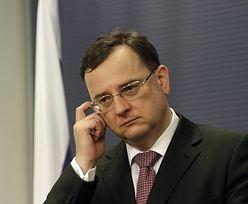 Dymisja premiera Czech. Prezydent przyjął rezygnację
