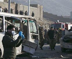 Samobójczy zamach na francuską szkołę w Kabulu