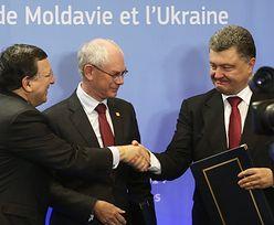 Ukraina podpisała umowę stowarzyszeniową z Unią
