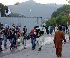 Marsz opozycji na dzielnicę rządową i szturm na TV