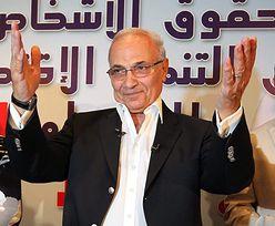 Wybory w Egipcie. Były premier odda głos na generała