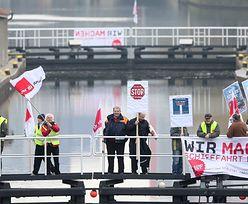 Kanał Kiloński sparaliżowany w wyniku strajku