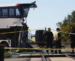 Zderzenie pociągu z autobusem w Kanadzie. Jest sześć ofiar