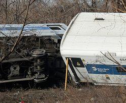 Nowy Jork: Wykoleił się pociąg podmiejski. Cztery osoby zginęły