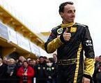 Kubica na torze Formuły 1. Jako tester