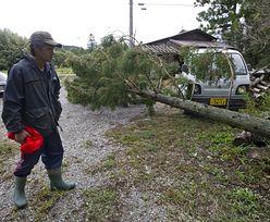 Japonia: Wiele ofiar tajfunu Wipha