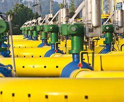 Gaz z Rosji płynie przez Ukrainę szerokim strumieniem