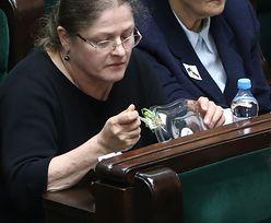 Awantura w Sejmie. Posłanka Krystyna Pawłowicz jadła podczas głosowań