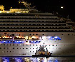 USA:Uszkodzony wycieczkowiec przyholowany do portu w Alabamie