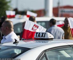 Taksówkarze mają dość. Protestują i żądają od ministerstwa uregulowania rynku przewozu osób