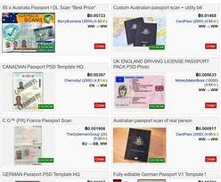 Od 30 do 12 tys. dolarów. Tyle przestępcy płacą za polskie paszporty