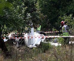 Katastrofa samolotu pod Częstochową: Drugi dzień prac na miejscu wypadku, ocalały został przesłuchany