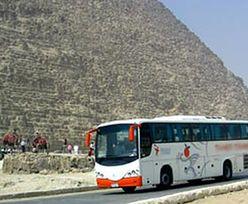 Zderzenie autobusów na Synaju