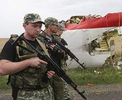 Zestrzelenie samolotu na Ukrainie. Separatyści wywożą ciała z miejsca tragedii