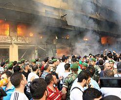 Zmach w Libanie. Eksplozje przy ambasadzie