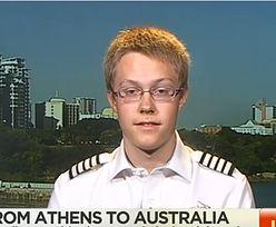 Najmłodszy pilot, który obleciał świat dookoła