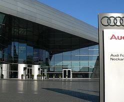 """Audi przerywa produkcję aut, bo fabryka """"pływa"""""""