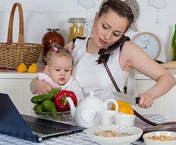 Praca zdalna dla młodej mamy