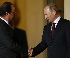 Francuskie okręty dla Rosji. Hollande łagodnieje