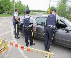 Obława w Kanadzie. Aresztowali mężczyznę, który zastrzelił trzech policjantów