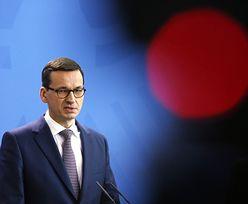 Premier Morawiecki tłumaczy się z kredytów frankowych. Jego bank jednak ich udzielał