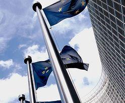Związkowcy protestowali w Brukseli przeciwko zaciskaniu pasa