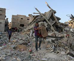 Wojna w Gazie. Celem ostrzału był dom przywódcy Hamasu