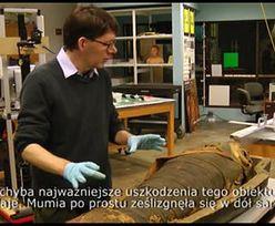 Amerykańscy naukowcy otworzyli sarkofag z egipską mumią