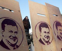 Chory Janukowycz ostro atakuje Majdan