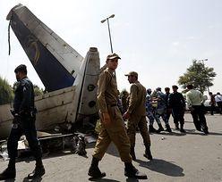 Katastrofa samolotu w Iranie. Spadł na miasto