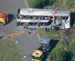 Wypadek pod Dreznem. Trwa identyfikowanie ofiar