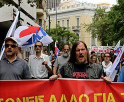 Grecja stanęła z powodu strajku powszechnego. Protestują przeciw obniżkom pensji i emerytur