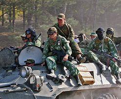 Konflikt na Ukrainie. Kilkuset żołnierzy przekroczyło granicę?